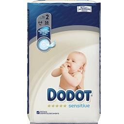 Fraldas bebé sensitive T2