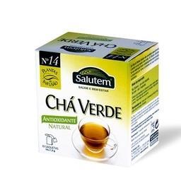 Chá de infusão salutem nº 14 - chá verde 10 saquetas