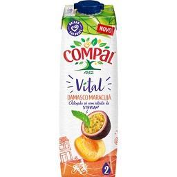 Compal vital damasco/ maracujá