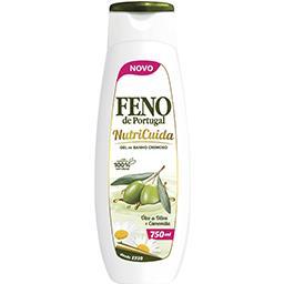 Gel de banho nutricuida oliva
