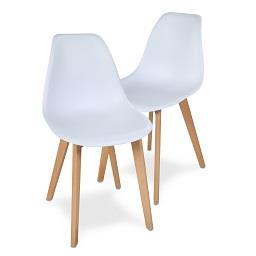 2 cadeiras brick brancas