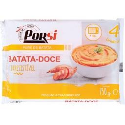 Puré batata doce