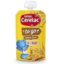 Papa infantil de farinha láctea