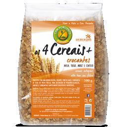 4 cereais + crocantes