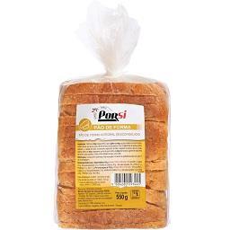 Pão de forma integral trigo