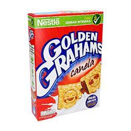Cereais golden graham's canela
