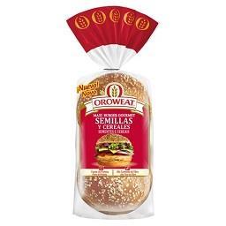 Maxi burguer sementes e cereais