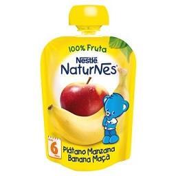 Fruta para bebé banana maçã +4 meses