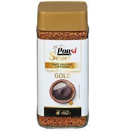 Café solúvel gold