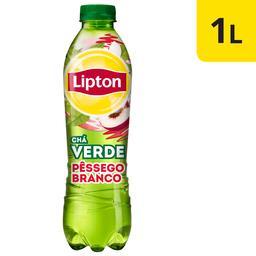 Lipton chá verde pessêgo branco pet