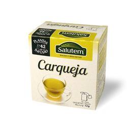 Chá de infusão salutem nº 42 - carqueja 10 saquetas