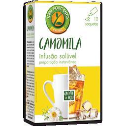 Chá solúvel camomila