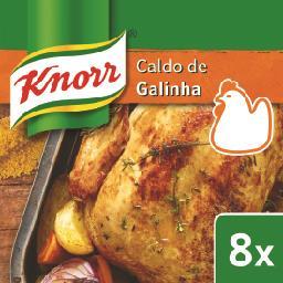 Caldo de galinha 8 cubos