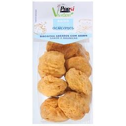 Biscoitos integrais sementes de agave