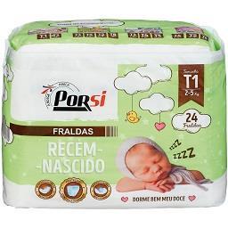 Fraldas bebés recém-nascidos T1 - 2 a 5 kg