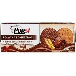 Bolachas digestive chocolate