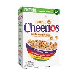 Cereais multi cheerios