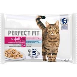 Comida húmida de peixe para gato esterilizado