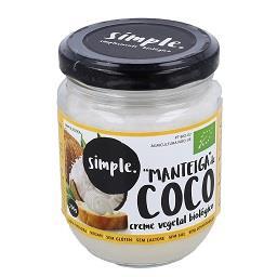 Manteiga de coco biológico 200g