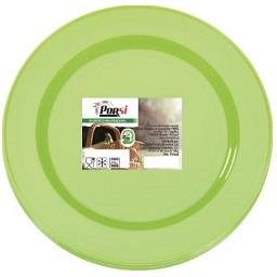 Pratos para pic nic 23 cm verdes