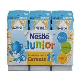 Bebida láctea com sabor a cereais +1 ano