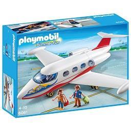 Avião de férias