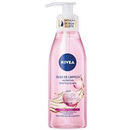 Óleo de limpeza pele seca