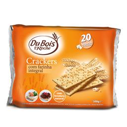 Bolachas crackers integral