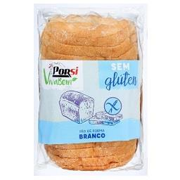 Pão forma branco sem glúten
