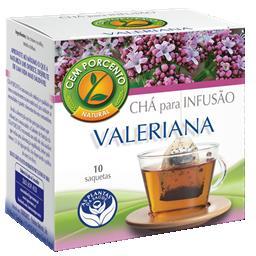 Chá infusão valeriana