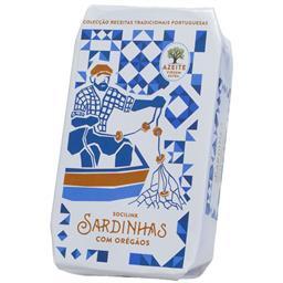 Sardinhas com orégãos em azeite virgem extra bysocil...