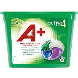 Detergente em Cápsulas p/ Máquina de Lavar Roupa 4 e...