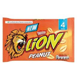 Chocolate lion peanut