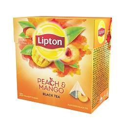 20 saquetas chá de pêssego manga