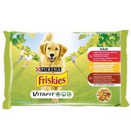 Comida húmida de vaca para cão