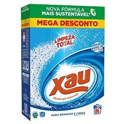 Detergente em pó para máquina de roupa limpeza total