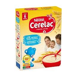 Farinha láctea menos 40% açúcar