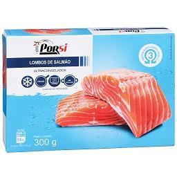 Lombos de salmão