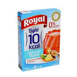 Gelatina frutos tropicais  10kcal
