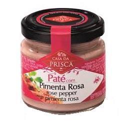 Patê com pimenta rosa