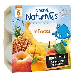 Fruta para bebé 7 frutos +6 meses