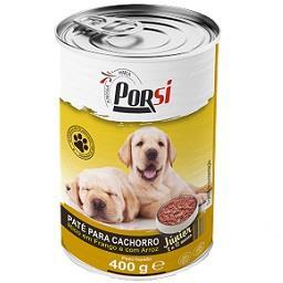 Comida húmida para cão de frango e arroz
