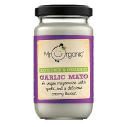 Maionese vegan com alho bio mrorganic