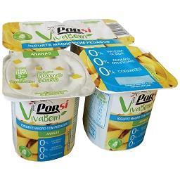 Iogurte ananás 000%