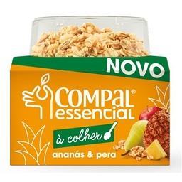 Compal essencial à colher de ananás e pera com cerea...
