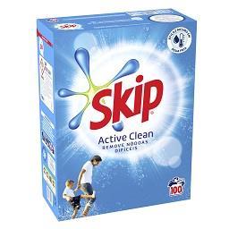 Detergente em pó para máquina roupa active clean
