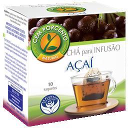 Chá infusão açaí