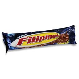 Bolacha filipinos chocolate de leite