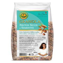 Granola frutos secos e sementes