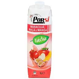 Néctar de maracujá, maçã e manga